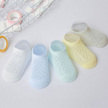 New Breathable Mesh Summer Baby Socks Cotton for  Boys Girls Kids Infant Childrens Socks Bebe Clothes Short Socks