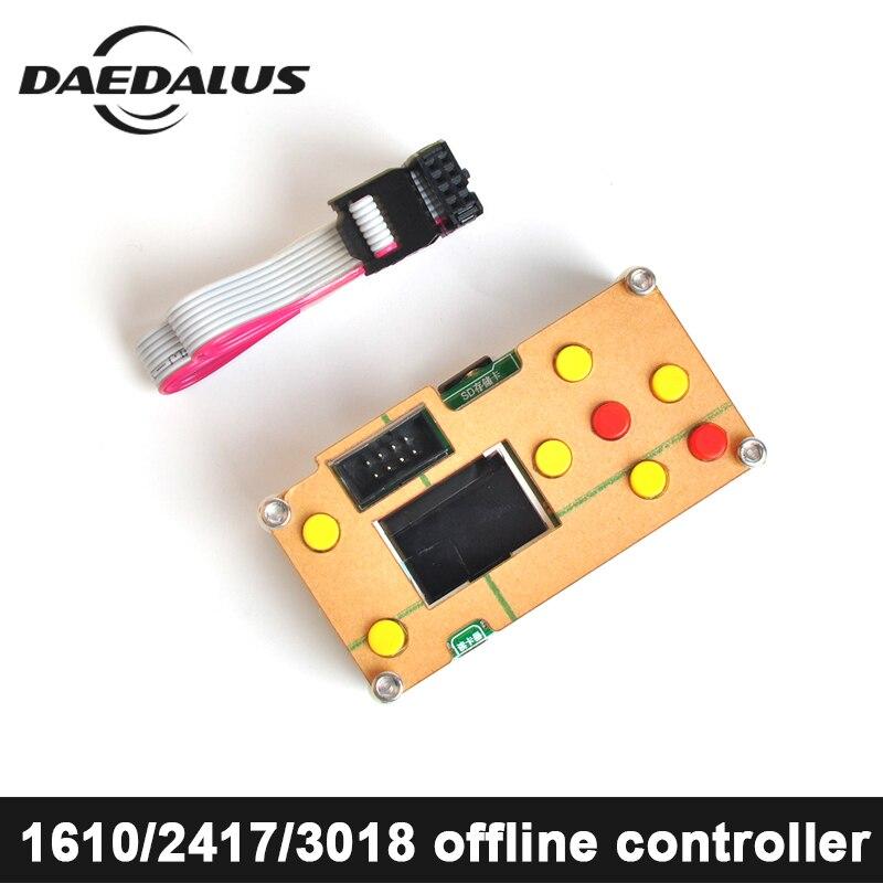 CNC 1610,2418, 3018 Diy mini máquina cnc controlador offline Para Gravador