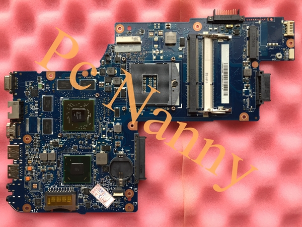 H000052630 PLFPLRCSFCSR DSC ddr3 Laptop Motherboard for toshiba C850 L850 C855 series system board slj8e w/ ATI graphics tested