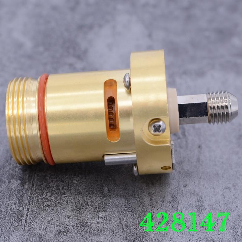 125A plasma cutting machine cutting torch body 428147 high quality accessories torch head cutting torch