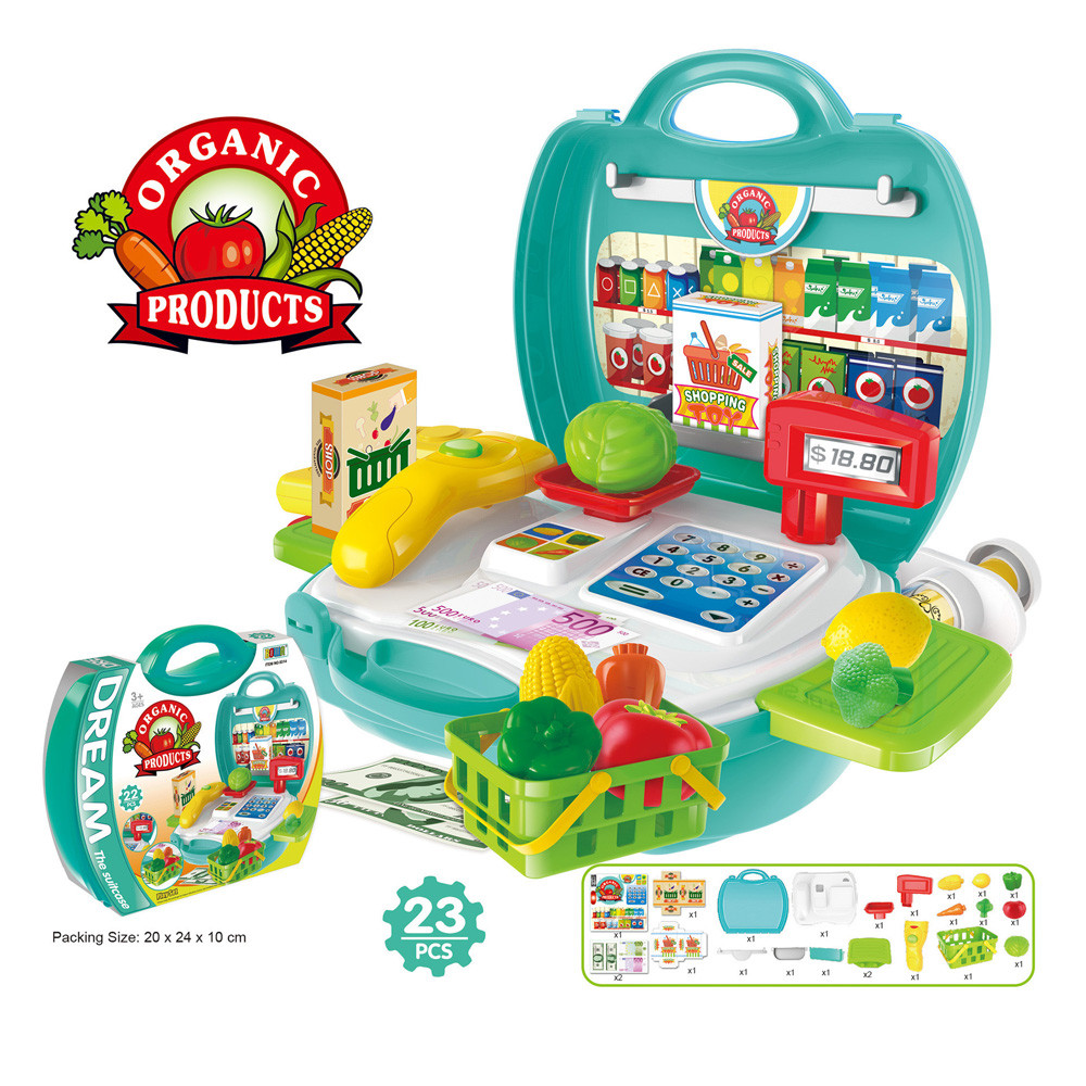 Muqgew Kids Kitchen Cooking Pretend Role Play Toy Food For Children S Set With Light Sound Effect