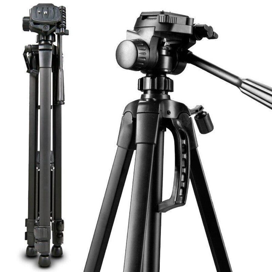 Tête panoramique professionnelle de trépied d'appareil-photo d'alliage d'aluminium de voyage de 3520 pour l'appareil-photo numérique de reflex numérique