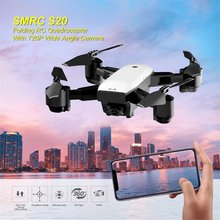 SMRC S20 Foldable 6-axis Gyro FPV Drone RC Quadcopter With 360' Flips Wide Angle