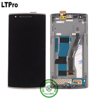 High Quality LCD Display Digitizer Touch Screen Assembly With Frame For OPPO Oneplus One 5 5