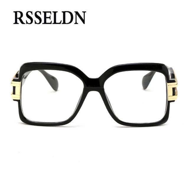 Online Shop RSSELDN 2018 Optical Eyewear Frames Men Clear Lens ...