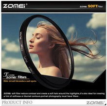ZOMEI 62mm Gentle Filter Particular Impact Diffuser Lens Filter Gentle Focus Dreamy Hazy Portrait For Nikon Canon Sony Digital camera Lens