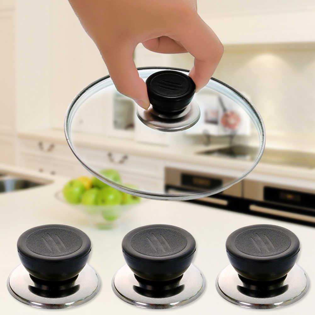 1 шт. кухонная крышка кухонной посуды ручка сменная ручка для крышек от кухонной посуды крышка крышки сковороды круглая ручка крепления винтовая ручка кухонные аксессуары
