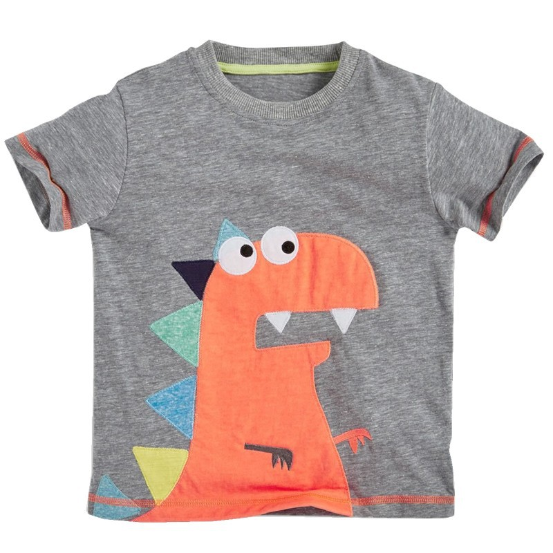 2017 Summer Baby kids boy Dinosaur Plane Cars T-shirt children child tops  tee boys cartoon enfant vetement garcon menino clothes 424e3f986f8
