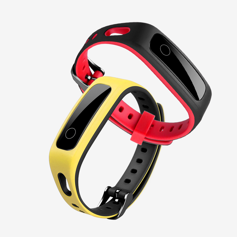 Silicone Strap For HONOR Band 4 Running Edition / Huawei Band 3e Sports Band For HONOR Band 5 Sport Replacement Wristband Strap