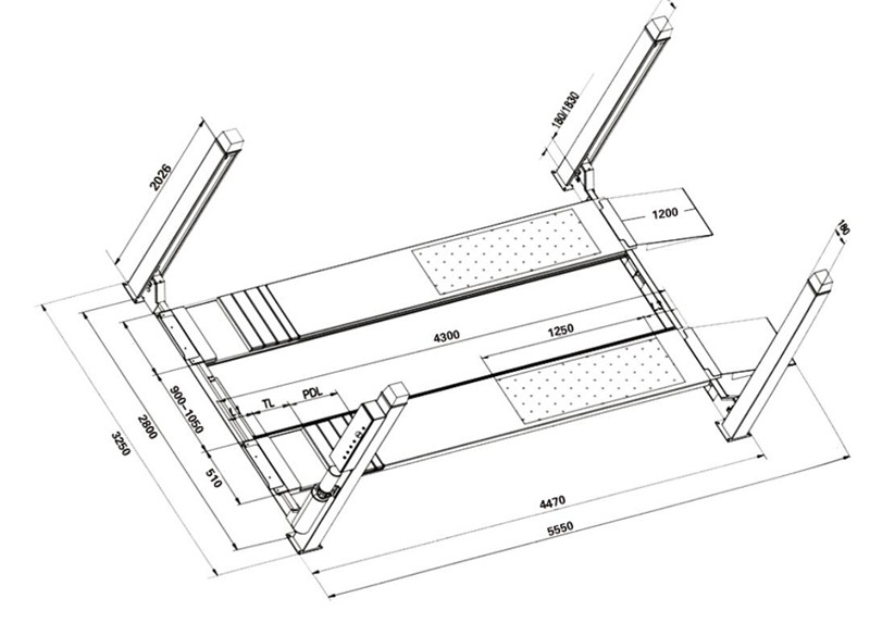 Scissor Car Jack Schematic