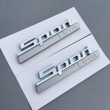 Emblema emblema para carro, emblema etiqueta de plástico emblema 2 peças