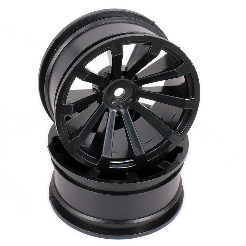 Scale Wheel Rim no Tire For Rc Car 1/10 On Road Racing Car Crawler Drift Car HSP Himoto HPI Traxxas Redcat 02018 02228 4pcs aluminum alloy 52 26mm tire hub wheel rim for 1 10 rc on road run flat car hsp hpi traxxas tamiya kyosho 1 10 spare parts