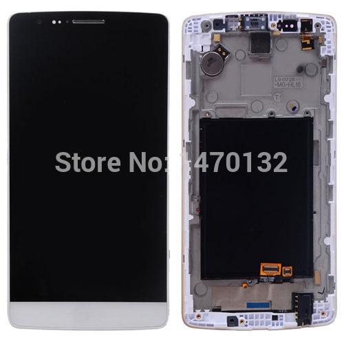 LCD Display Touch Screen Digitizer Assembly For LG G3 mini D722 D722K D722V D724 D725 D728 + Frame (White)