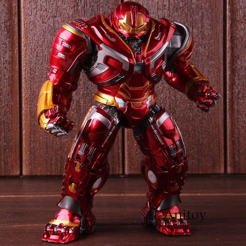 Marvel Avengers Infinity War Mark44 Hulk Buster figurines d'action Hulkbuster PVC modèle de collection jouet avec lumière LED
