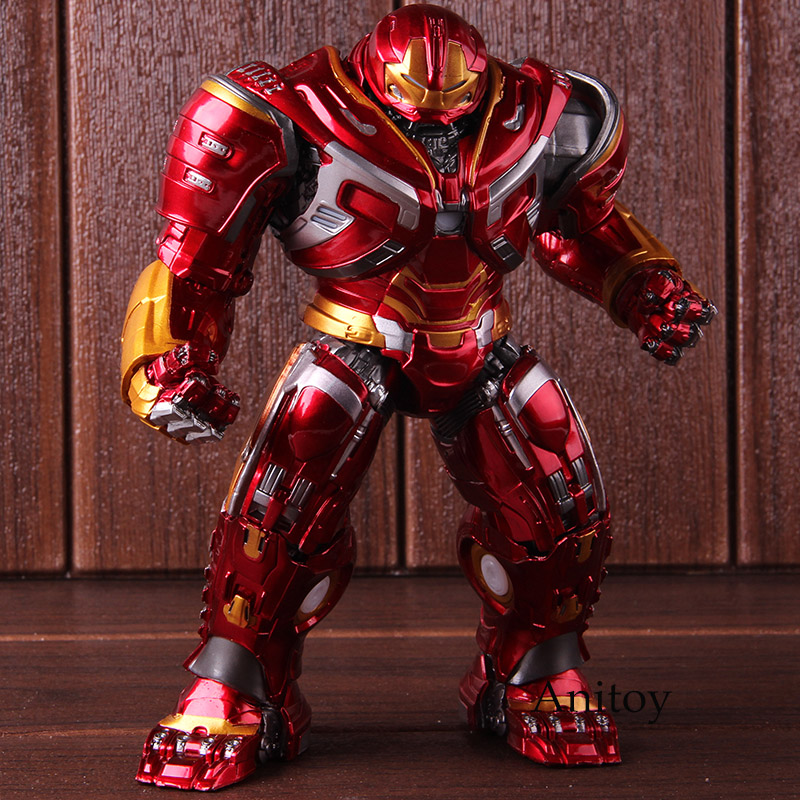 Marvel Avengers Infinity War Mark44 Hulkbuster Action Figures PVC Collectible Model Toy With LED Light