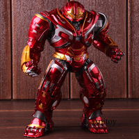 Marvel Avengers Infinity War Mark44 Hulk Buster Action Figures Hulkbuster PVC Collectible Model Toy with LED Light