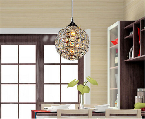 Simple personality modern crystal creative art chandelier single simple personality modern crystal creative art chandelier single head living bedroom restaurant clothing store aisle chandelier mozeypictures Image collections