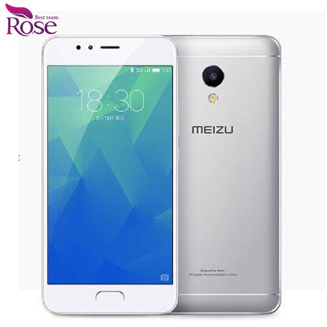 """Оригинал MEIZU M5S Глобальной прошивки 3 ГБ RAM 16 ГБ/32 ГБ ROM Сотовый Телефон 5.2 """"HD IPS 13.0mp Отпечатков Пальцев Быстрая Зарядка Мобильного Телефона"""