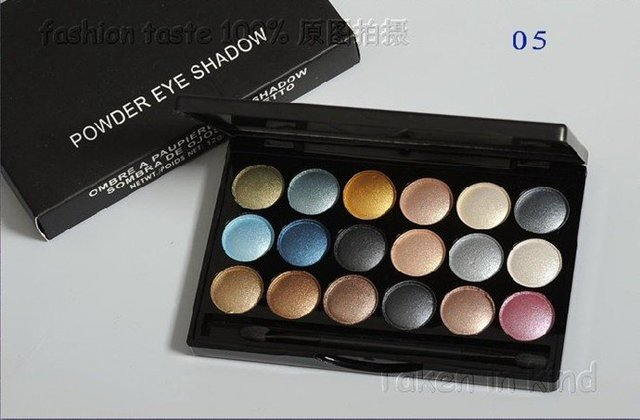 china post china factory 6PCS/LOT 18 COLOR BEST Professional POWDER EYE SHADOW palette OMBRE PAUPIERES EYESHADOW 32G 6 COLORS
