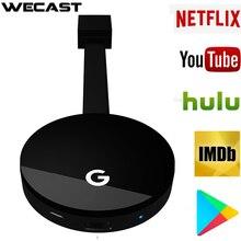 Vezeték nélküli WiFi kijelző HD TV képernyő tükrözés Dongle A Google Chromecast 2 Netflixhez YouTube Crome Chrome Cast Cromecast