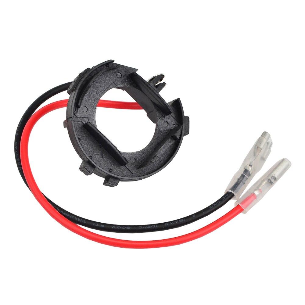 Araba LED far ampulü adaptör tabanı tutucu tutucu H7 VW Golf Jetta için MK7 MK6/Scirocco/Touran/Sharan