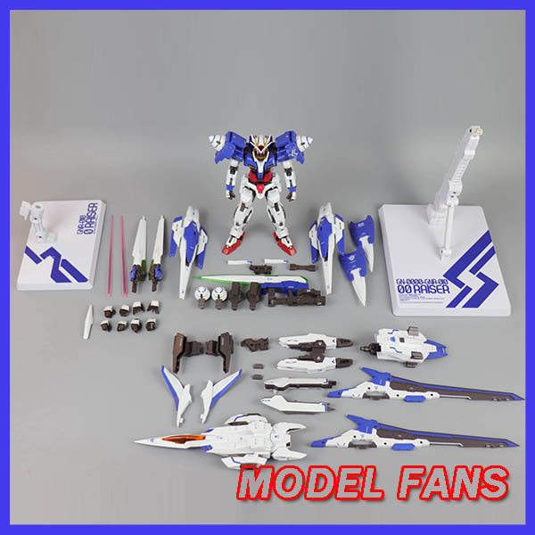 MODEL FANS in stock Metalgear models metal build MB Gundam OO raiser OOR XN high quality made in china action figure-in Action & Toy Figures from Toys & Hobbies