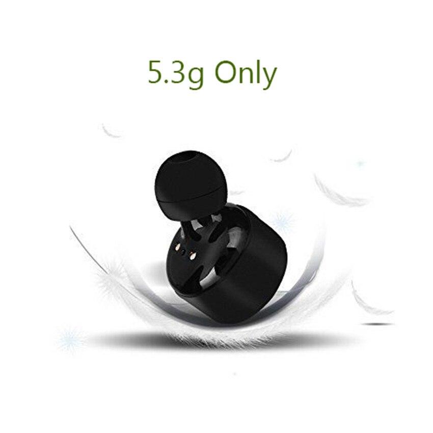 Aimitek X3T TWS Bluetooth Écouteur Mini Vrai Sans Fil Stéréo Casque In-Ear Eabud w/Chargeur Boîte pour Téléphones (mis à jour X2T X1T) - 4