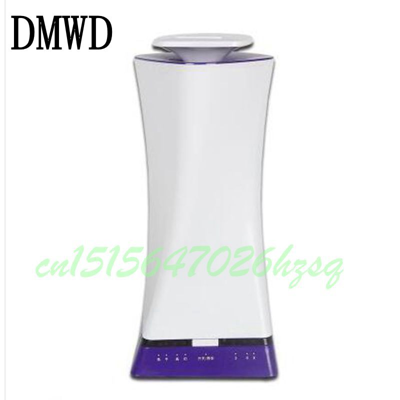 DMWD 25W Mini air humidifier Aroma Ultrasonic Negative ion Zero radiation Timing Auto power off Spray maker 3.0L Mute home tabletop ultrasonic humidifier 5l touch type timing mist maker mute air purifier auto power off protection 300ml h