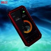 IP68 100 Waterproof Underwater Swimming Diving Metal Aluminum Phone Case For IPhone X Case Heavy Duty