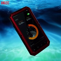 IP68 100% Waterproof Underwater Swimming Diving Metal Aluminum Phone Case For iPhone X Case Heavy Duty doom Cover for iPhoneX