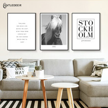 Nordic Style BMW Poster Black And White And Oriental Flamingo Canvas Art Painting Wall Living Room Home Decoration No Frame(China)