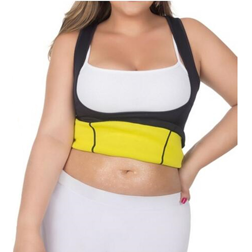 9c433f6fb6 Hot Body Shapers Waist-Trimmer Slimming Shirt Hot slim Plus-Size Thermal  Weight-Loss Shaper Women s Hot Neoprene Shapers Corsets
