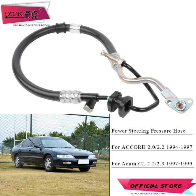 ZUK Power Steering Feed Pressure Hose Pipe For HONDA ACCORD L - Acura cl 1997 parts