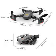 Foldable RC Quadcopter  Selfie Drone with Extra Batteries