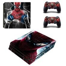 Spiderman PS4 Pro Skin Sticker Decal Vinyl