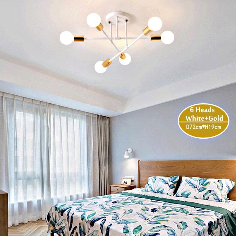 HTB1oQkSc81D3KVjSZFyq6zuFpXaH Smuxi 6/8 Head LED Industrial Iron Ceiling Light Living Room Ceiling Lighting Nordic 220V E27 Modern Simple LED Lamp