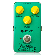 Vintage Overdrive Guitar Effect Pedal Overdrive Guitar Pedal Effect True Bypass Guitar Parts & Accessories Joyo JF-01 Effects biyang x drive overdrive guitar effect pedal stompbox for electric guitar chipset changeable to create diffenet tone od 8