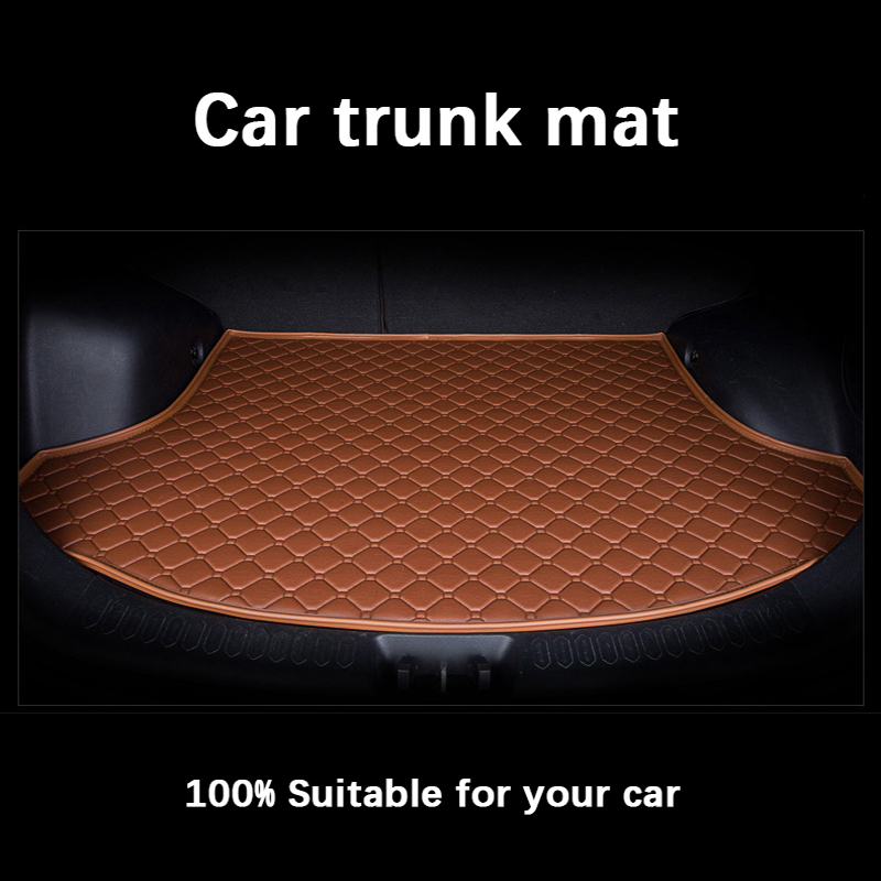 Special car trunk mats for Cadillac SLS ATSL CTS XTS SRX CT6 ATS Escalade auto accessories car styling auto mats