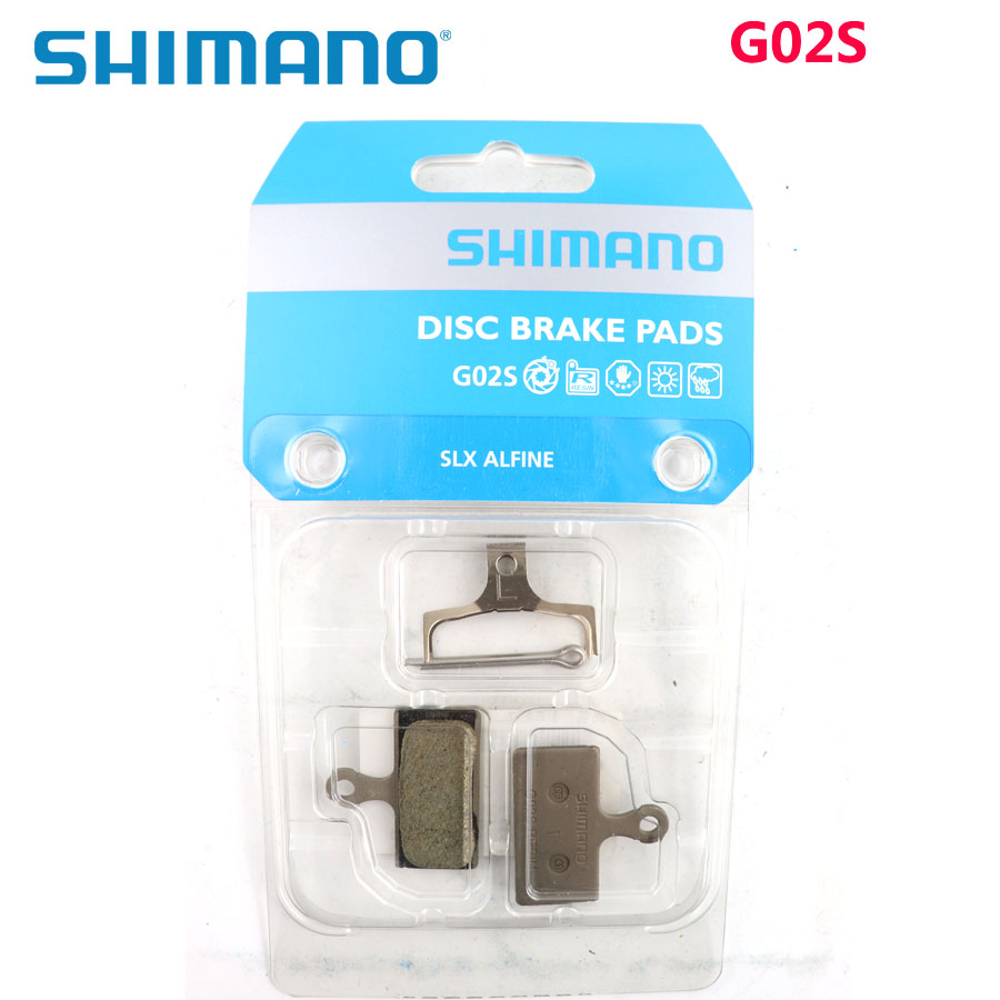 Shimano G02S Resin Brake Pad Upgraded from <font><b>G01S</b></font> for BR-M9000/M9020/M987/M8000/M785/M7000/M675/R785/R517 Bicycle Parts image