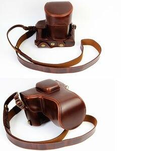 Image 5 - กระเป๋ากล้องหนังPUสำหรับFujifilm X T20 XT20 X T10 XT10 16 50Mm 18 55มม.เลนส์พร้อมสายคล้อง