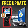 LAUNCH Creader CR3008 Auto OBD2 EOBD Car Engine Fault Code Reader Scanner PK NT301 AD410 Car OBDII Engine ERROR Code Reader flash sale