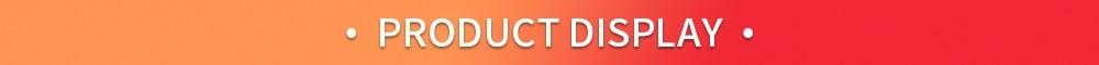 2.PRODUCT DISPLAY