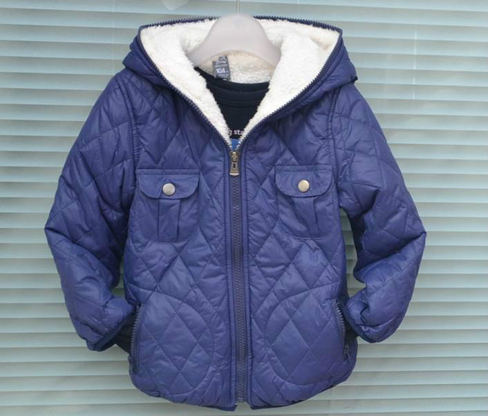 Children s new Hooded Jacket warm jacket outdoor zipper jacket fashionable leisure style special price on