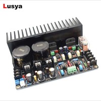 New M3886 JRC5534DD OP07 Max Output Power 2 x 68W HIFI Music AUDIO DIY Heatsink Amplifier Board B4 001