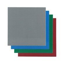 OCDAY 32*32 Buracos Universal Bloco de Construção DIY Pequenas Partículas Piso Crianças Iluminismo Brinquedos Blocos Placa de Piso