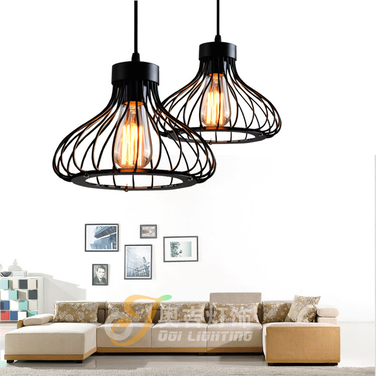 Vintage Chandeliers industrial Nordic Lamp Loft Chandelier Edison Bulb Retro Ceiling Chandelier Antique E27 indoor Art Lights hemp rope chandelier antique classic adjustable diy ceiling spider lamp light retro edison bulb pedant lamp for home