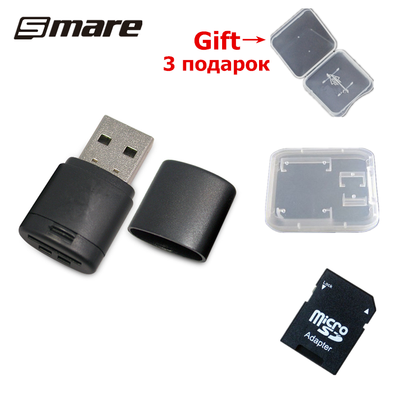 MIXZA CR36 USB 2.0 microSD card reader maximum support 128GB High Quality mini card reader Free Shipping