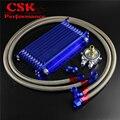 10 РЯД Trust масляный охладитель w/ 262 мм Монтажный кронштейн + фильтр адаптер шланга комплект