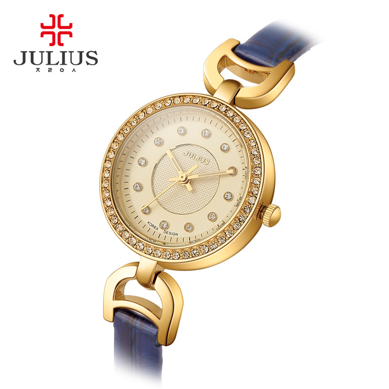 ФОТО Brand Women Strass Watches With Small Dial Cool Unusual Whatch Free Shipping Ladies Gold Colour Watches Hot Luxury Montre JA-846