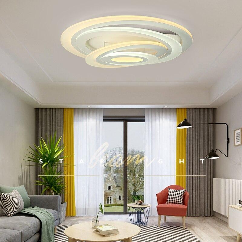 Neue Ultradünne Deckenleuchten Lampen Für Wohnzimmer Schlafzimmer Lüster De  Sala Hause Dezember Led Kronleuchter Decke Kostenlose Lieferung